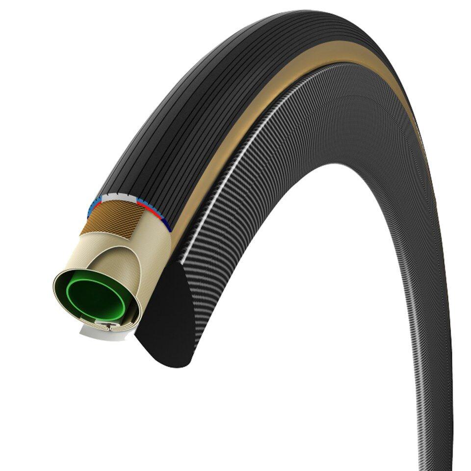 Vittoria Corsa G+ Tubular Graphene Road Tyre - 28in x 28mm - Full Black