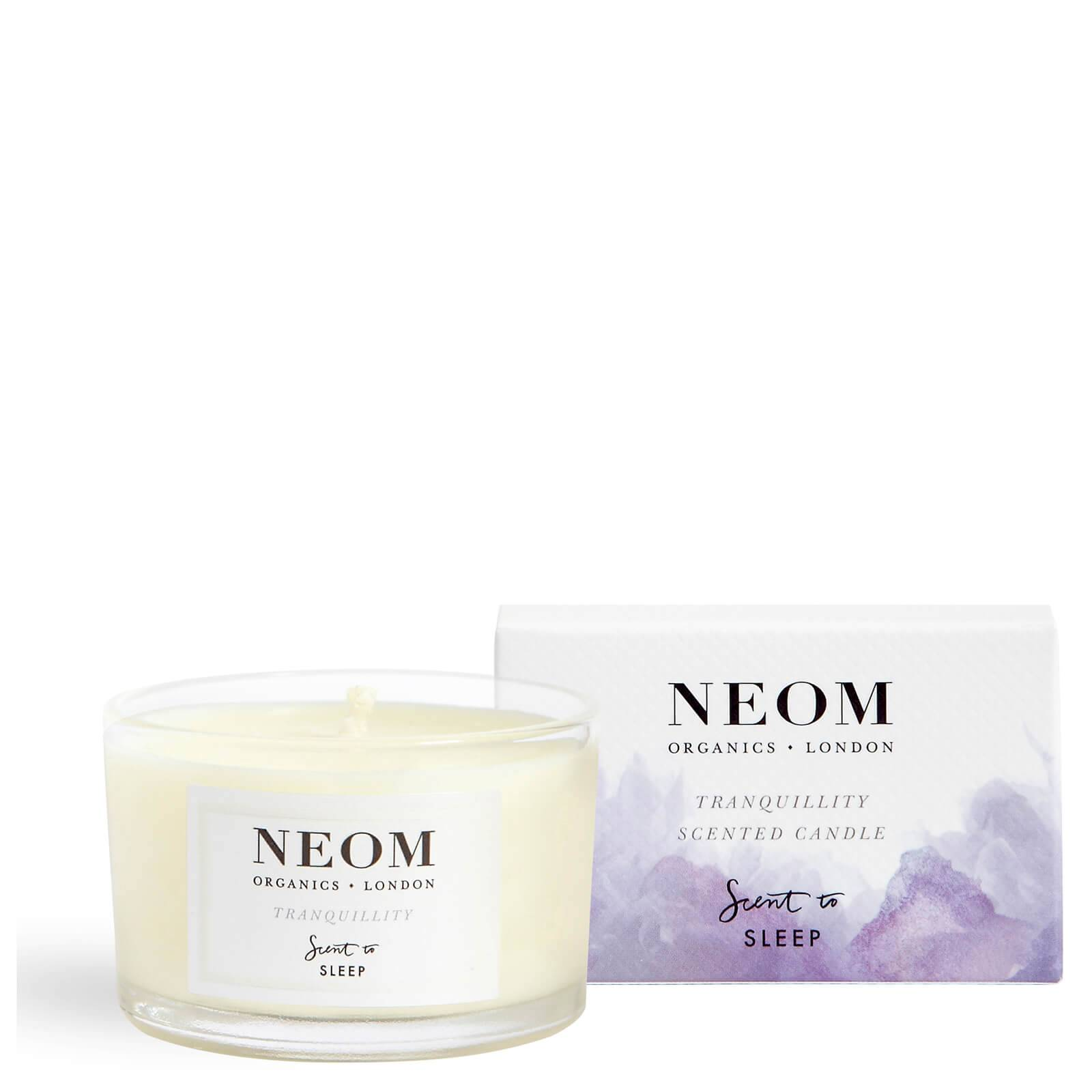 NEOM Tranquillity Scented Travel Candle