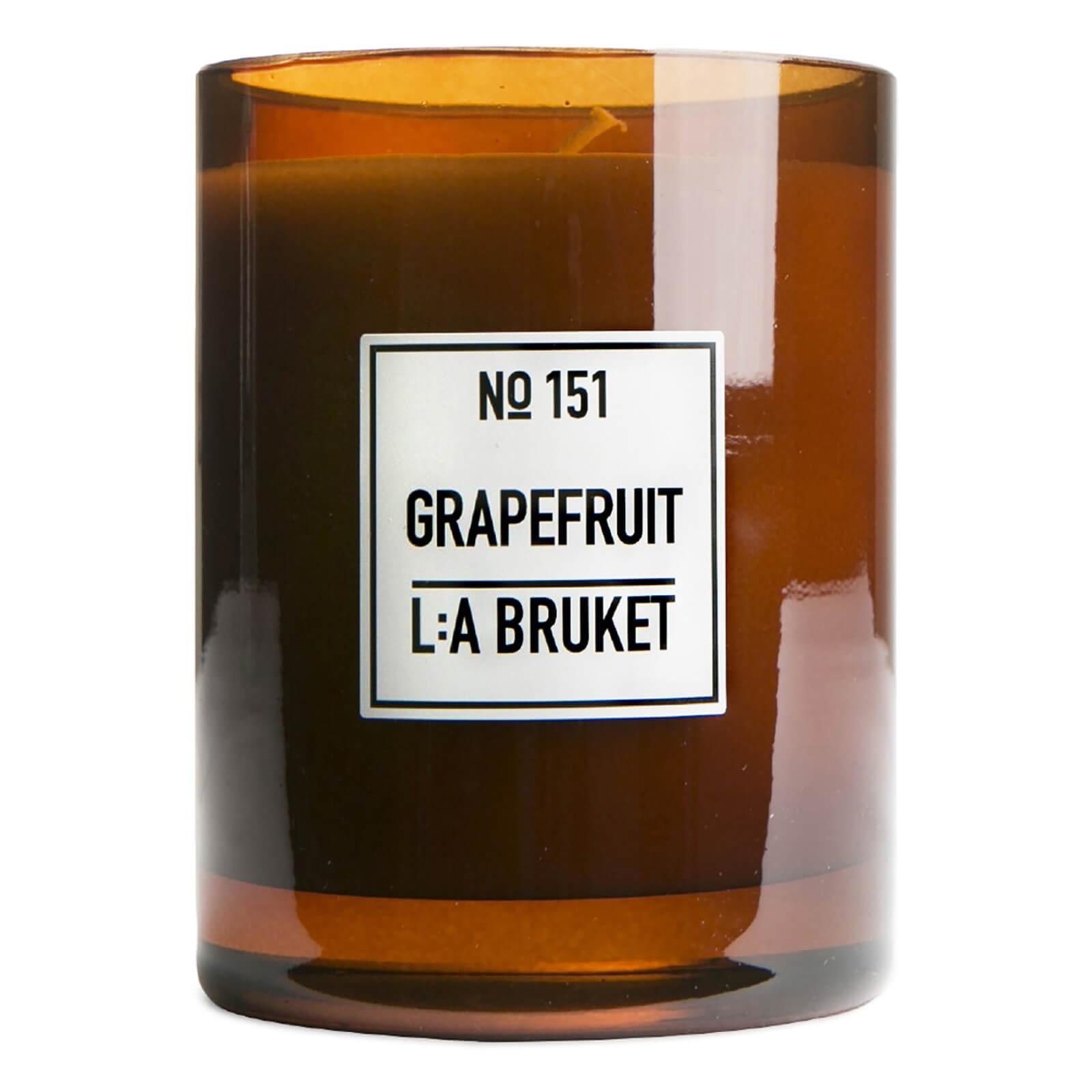 L:A BRUKET Large Grapefruit Scented Candle 260g