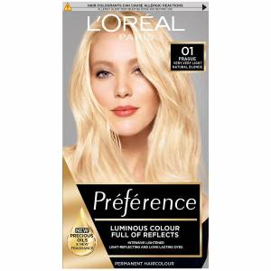 L'Oréal Paris Préférence Infinia Hair Dye (Various Shades) - 01 Prague Very Very Light Natural Blonde