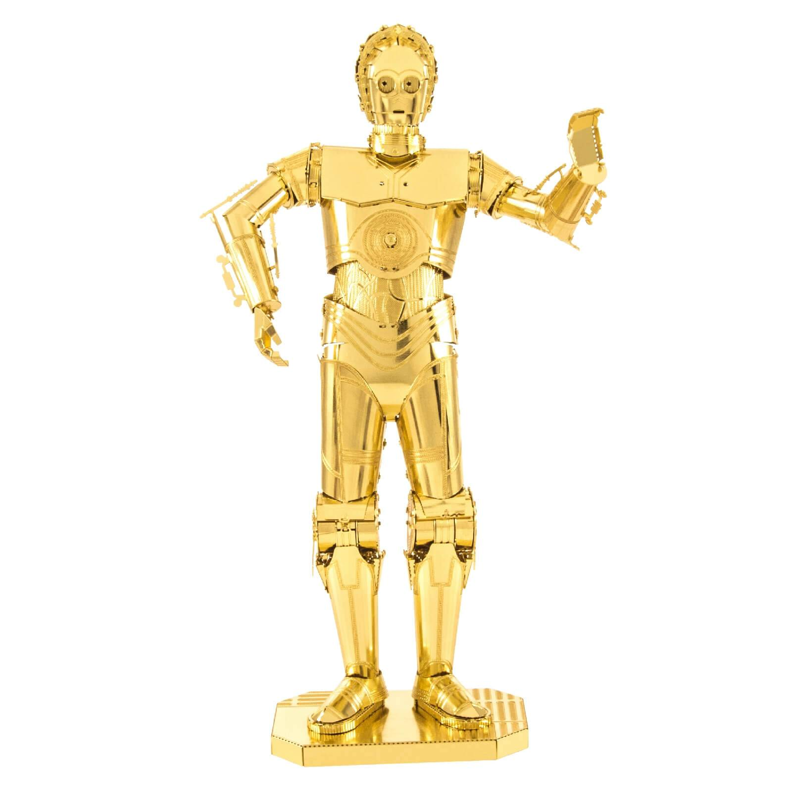 Professor Puzzle Star Wars C-3PO Metal Earth Construction Kit