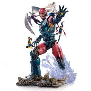 Iron Studios Marvel Comics BDS Art Scale Statue 1/10 X-Men vs Sentinel #3 Deluxe 87 cm