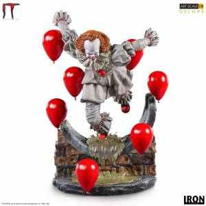 Iron Studios IT Chapter Two Deluxe Art Scale Statue 1/10 Pennywise 21 cm