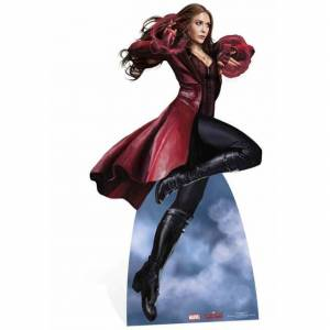 Star Cutouts Disney Marvel Captain America: Civil War Scarlett Witch Over Size Cut Out