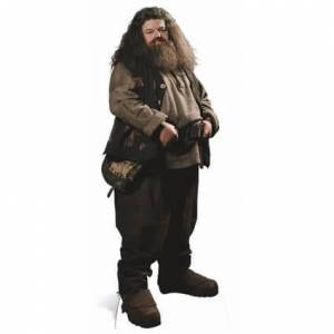 Star Cutouts Harry Potter Hagrid Life Size Cut Out