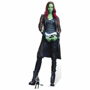 Star Cutouts Guardians of the Galaxy Volume 2 Gamora Cardboard Cut Out - Life Size