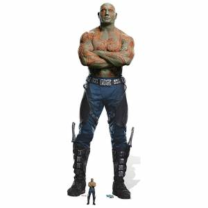 Star Cutouts Guardians of the Galaxy Volume 2 Drax the Destroyer Cardboard Cut Out - Life Size