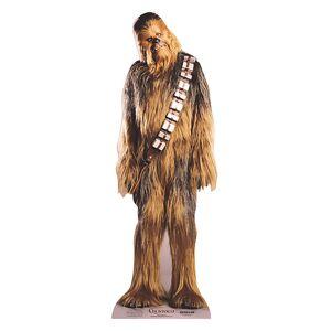 Star Cutouts Star Wars - Chewbacca Mini Cardboard Cut Out