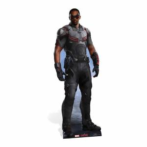 Star Cut Outs Captain America: Civil War - Falcon Lifesize Cardboard Cut Out