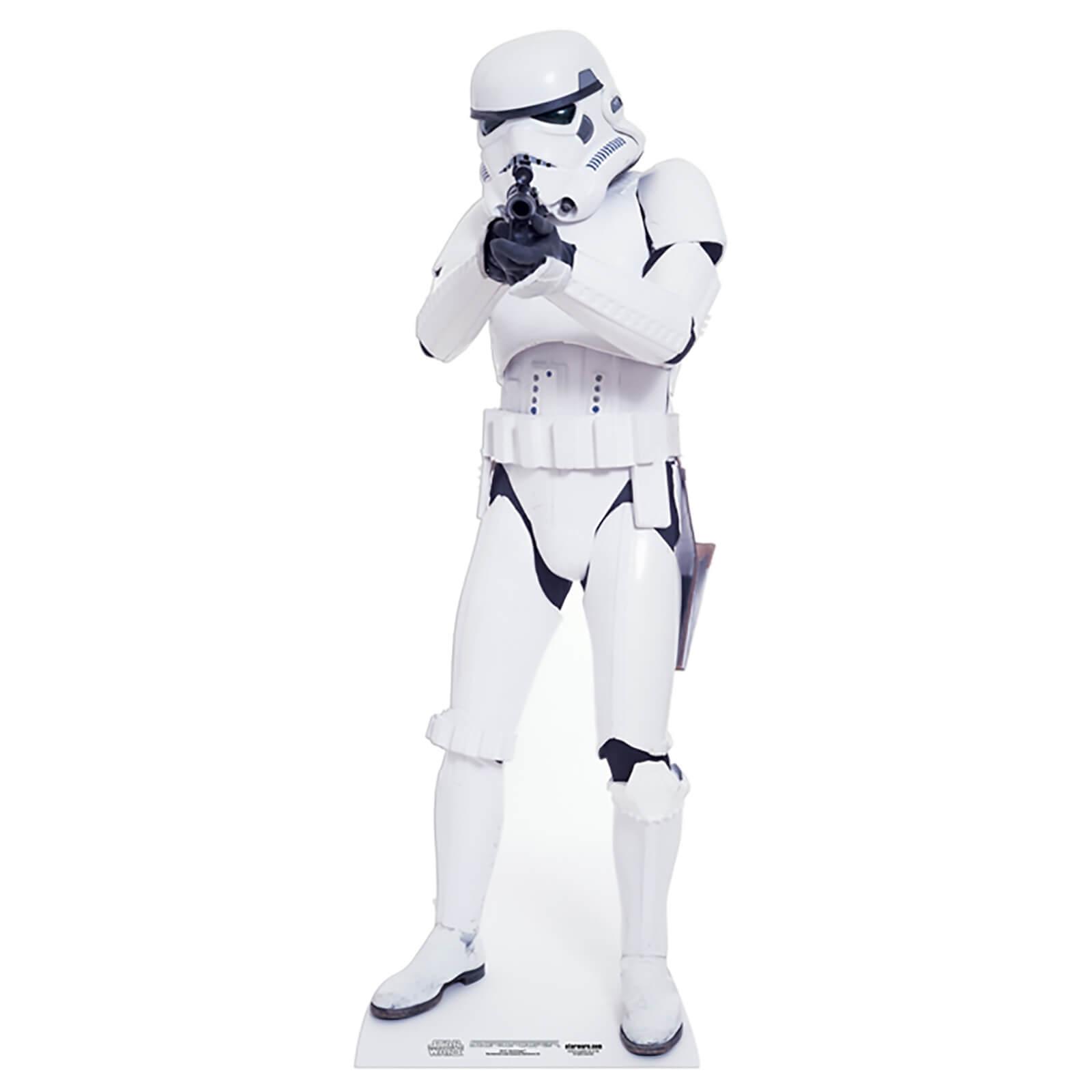 Star Cut Outs Star Wars - Stormtrooper Mini Cardboard Cut Out