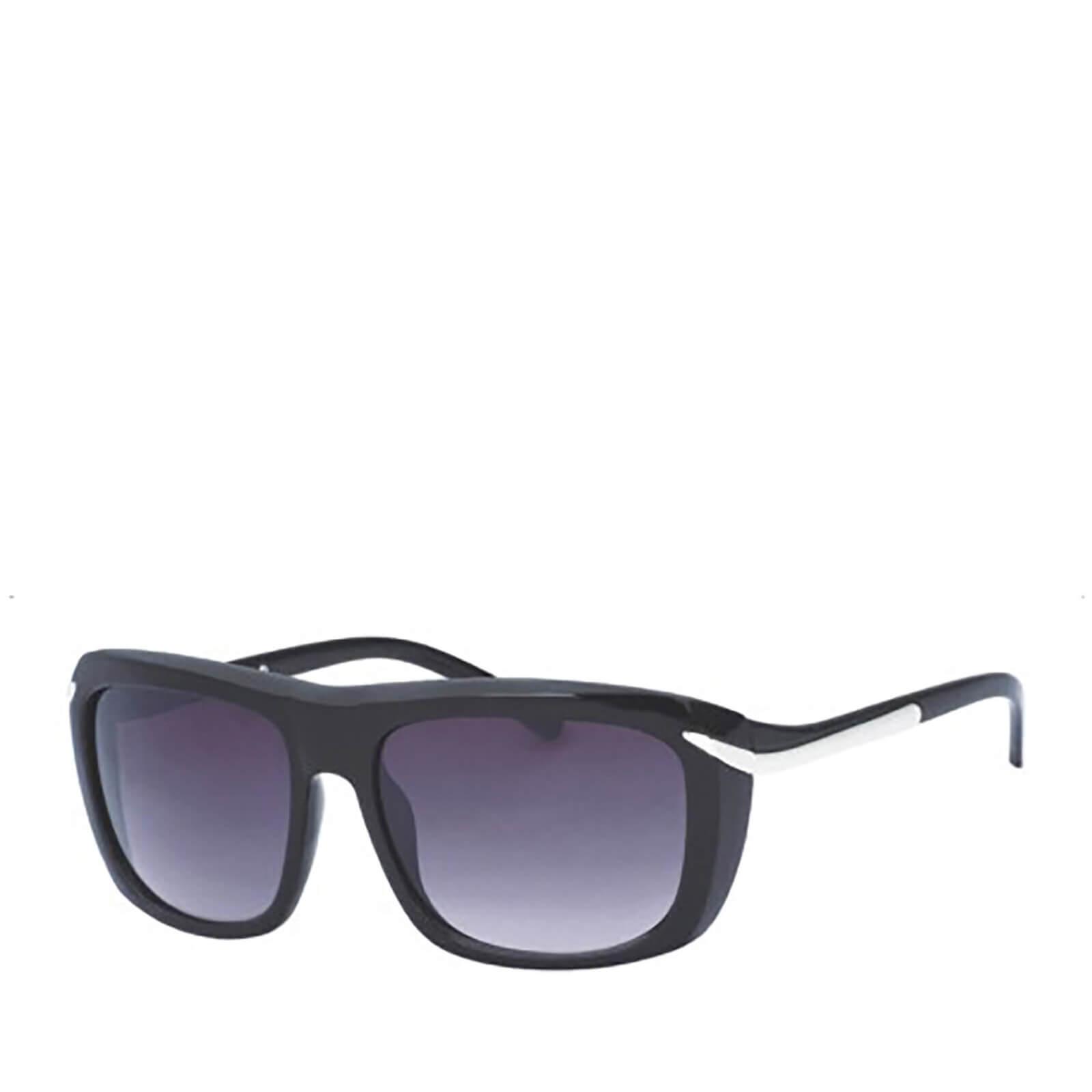 Own Brand Men's Square Sunglasses - Black