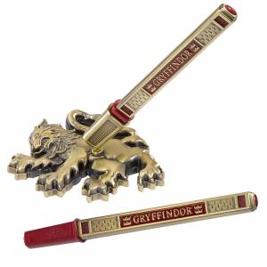 Noble Collection Harry Potter Gryffindor House Pen and Desk Stand