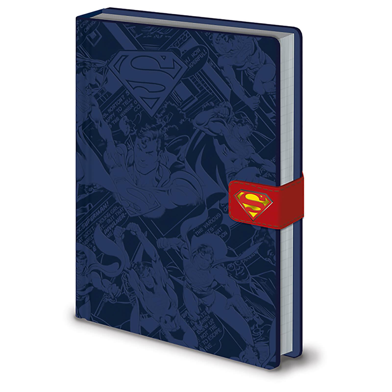 Pyramid DC Originals (Superman Montage) A5 Premium Notebook