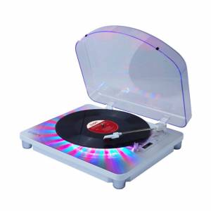 ION Audio ION Photon LP Multi-Color Lighted Turntable with USB Conversion