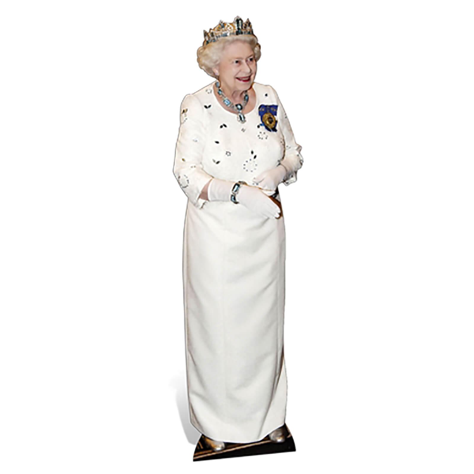 Star Cut Outs Queen Elizabeth Lifesize Cardboard Cut Out