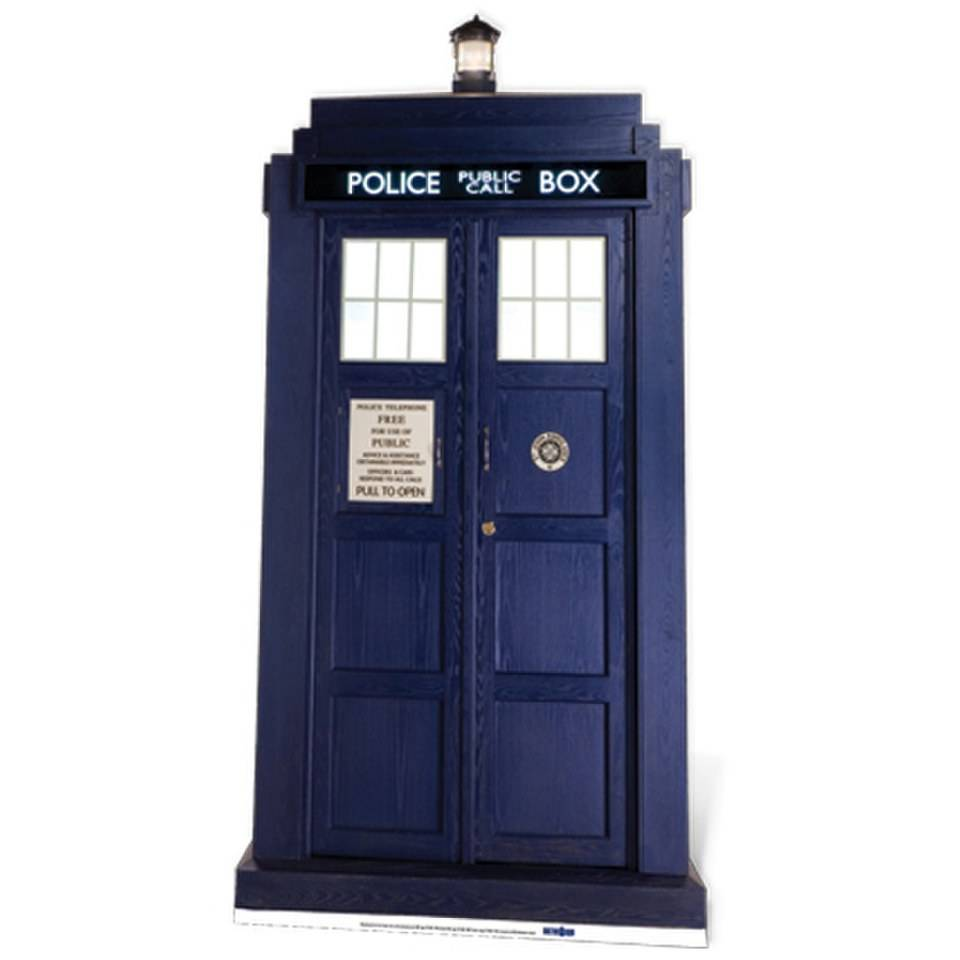 Star Cut Outs Doctor Who The Tardis Cut Out