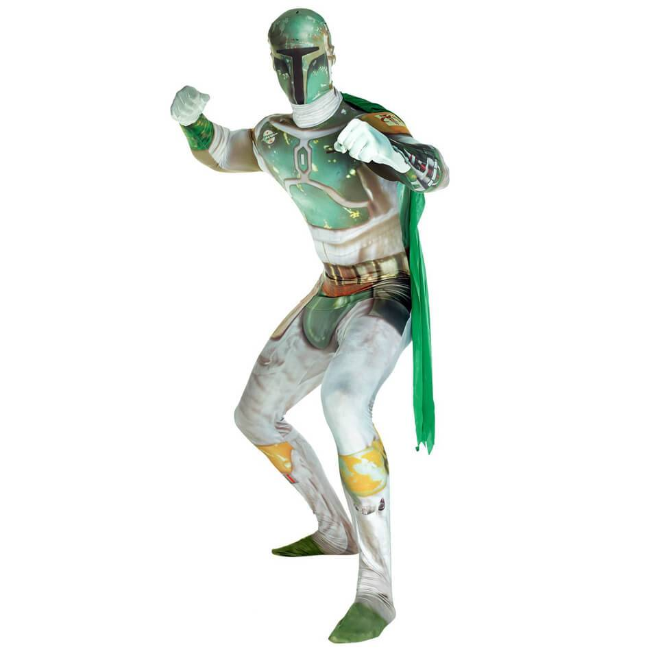 Morphsuits Morphsuit Adults' Deluxe Star Wars Boba Fett - L - Grey