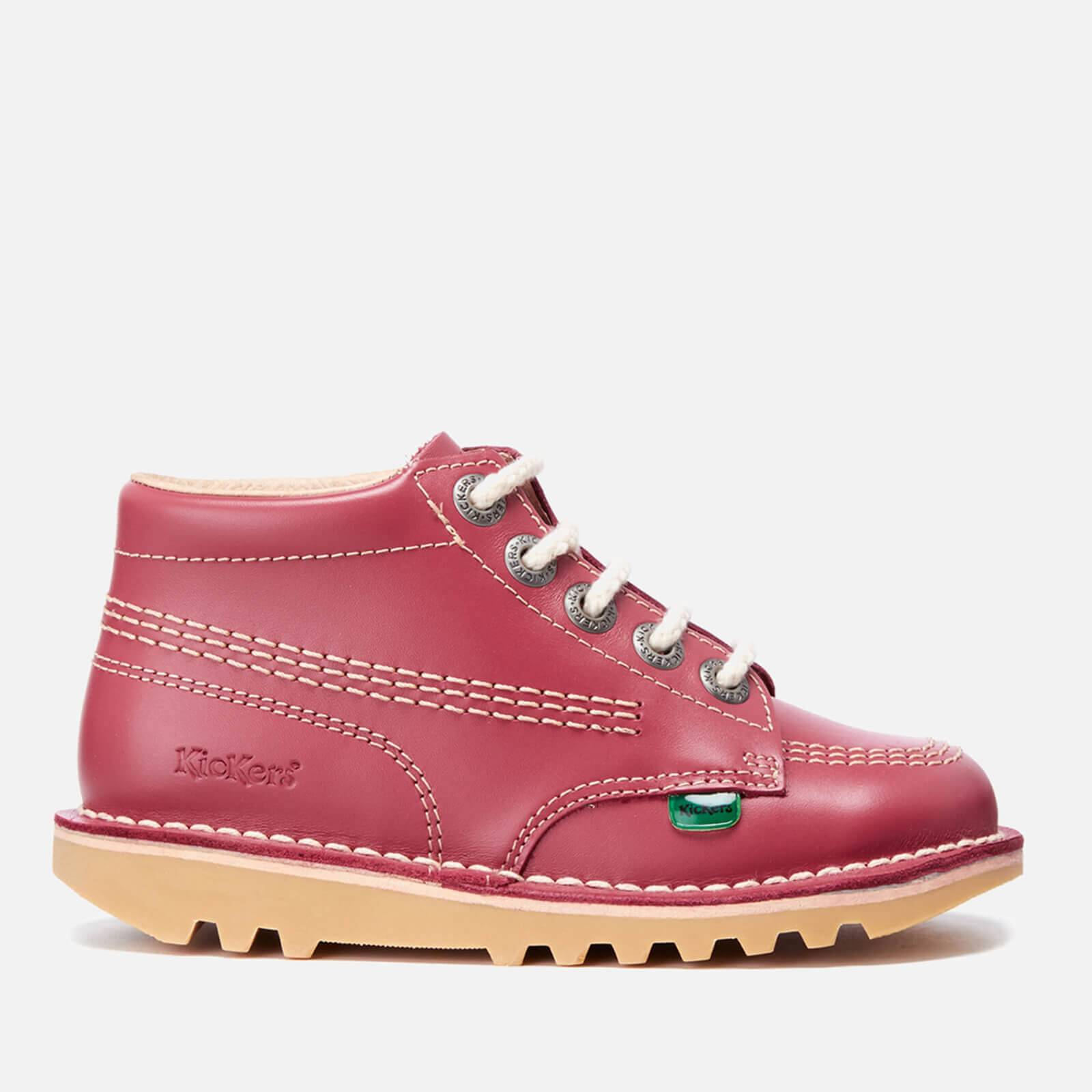 Kickers Kids' Kick Hi Boots - Blossom - UK 8 Infant/EU 25 - Pink
