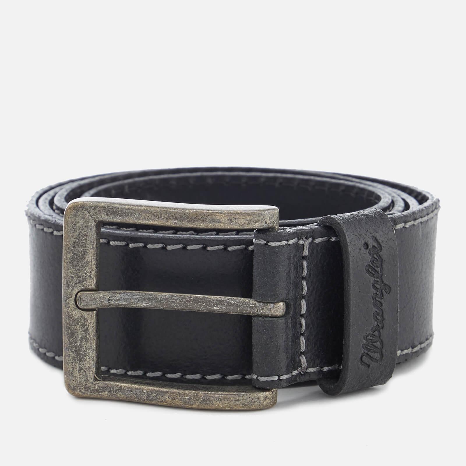 Wrangler Men's Stitched Belt - Black - XL - Black