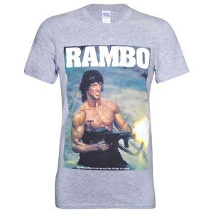 Geek Clothing Rambo Men's Gun T-Shirt - Grey - S - Grey