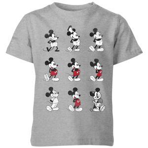 Disney Evolution Nine Poses Kids' T-Shirt - Grey - 5-6 Years - Grey