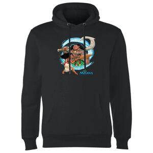 Disney Moana Wave Hoodie - Black - L - Black