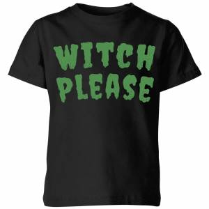 Halloween Witch Please Kids' T-Shirt - Black - 3-4 Years - Black