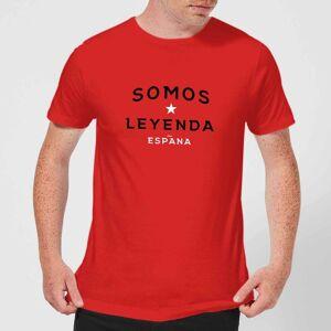 Football Somos Leyenda Men's T-Shirt - Red - L - Red