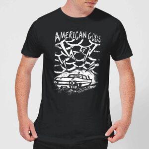American Gods Car Storm Men's T-Shirt - Black - L - Black
