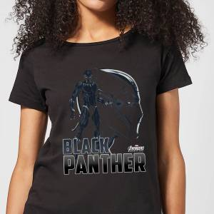 Marvel Avengers Black Panther Women's T-Shirt - Black - M - Black