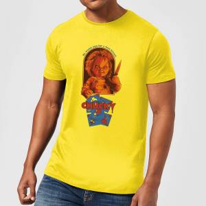 Chucky Out Of The Box Men's T-Shirt - Yellow - S - Yellow