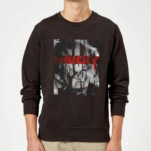 Chucky Typographic Sweatshirt - Black - XL - Black