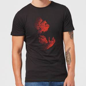 Universal Monsters The Wolfman Illustrated Men's T-Shirt - Black - S - Black