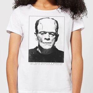 Universal Monsters Frankenstein Portrait Women's T-Shirt - White - XXL - White