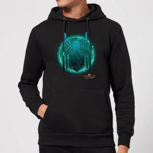 Marvel Spider-Man Far From Home Stealth Globe Hoodie - Black - M - Black