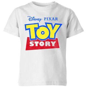 Pixar Toy Story Logo Kids' T-Shirt - White - 7-8 Years - White