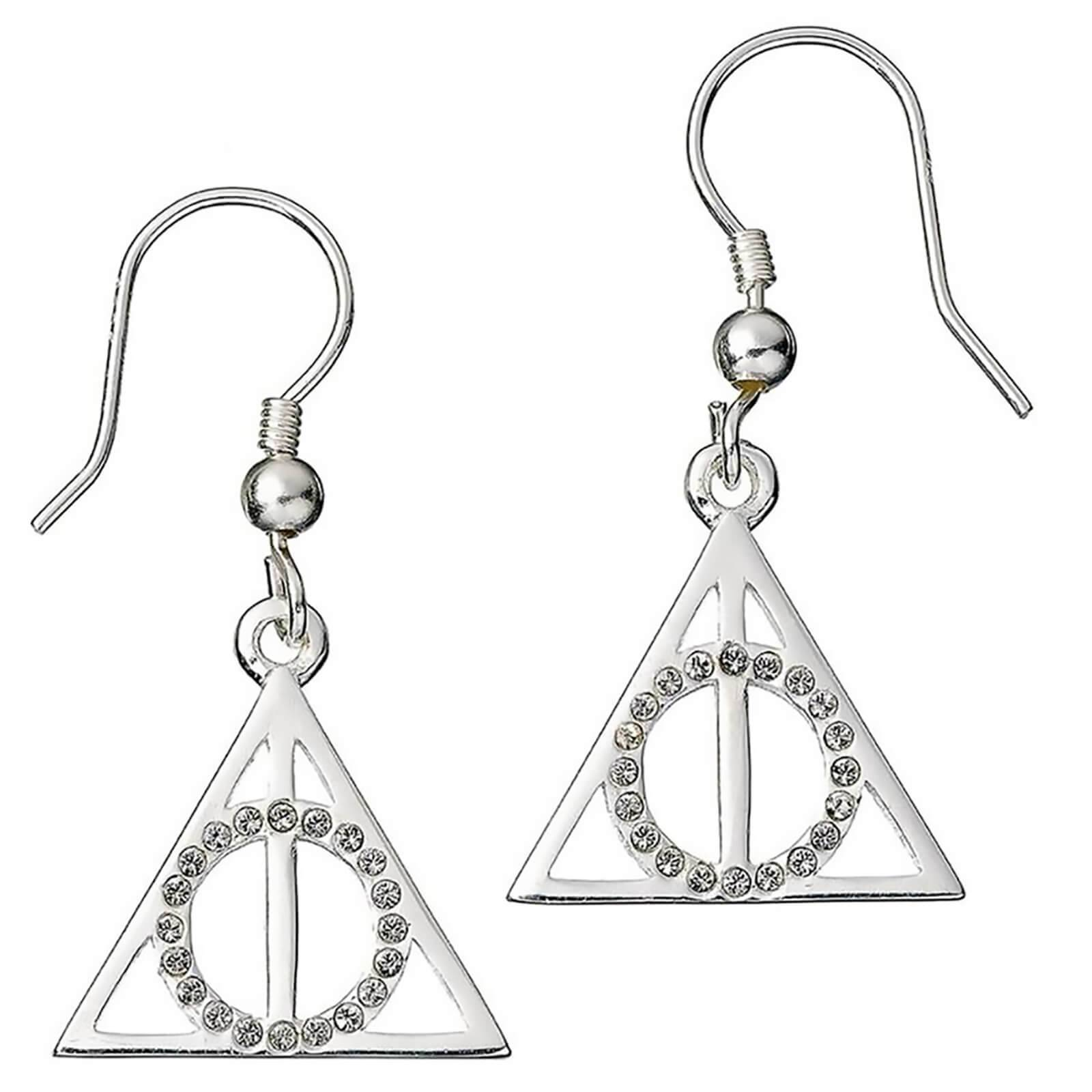 Carat Shop Harry Potter Deathly Hallows Earrings