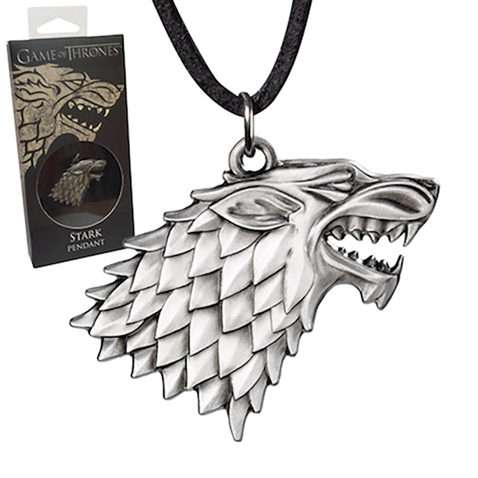 Noble Collection Game of Thrones Stark Sigil Pendant Costume Replica