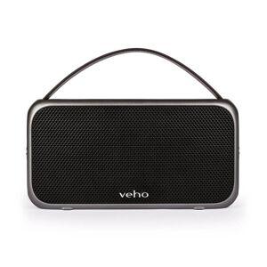 Veho M7 Retro Water Resistant Wireless Bluetooth Speaker - Black