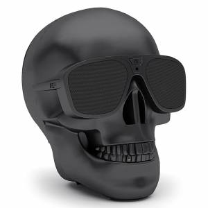 Jarre AeroSkull XS + Bluetooth Portable Speaker - Matt Black