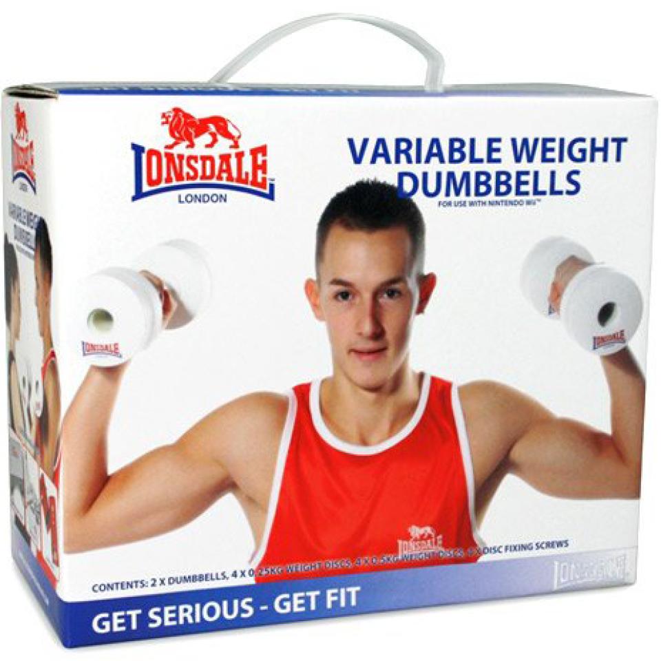 Nintendo Variable Weight Dumbbells for Nintendo Wii