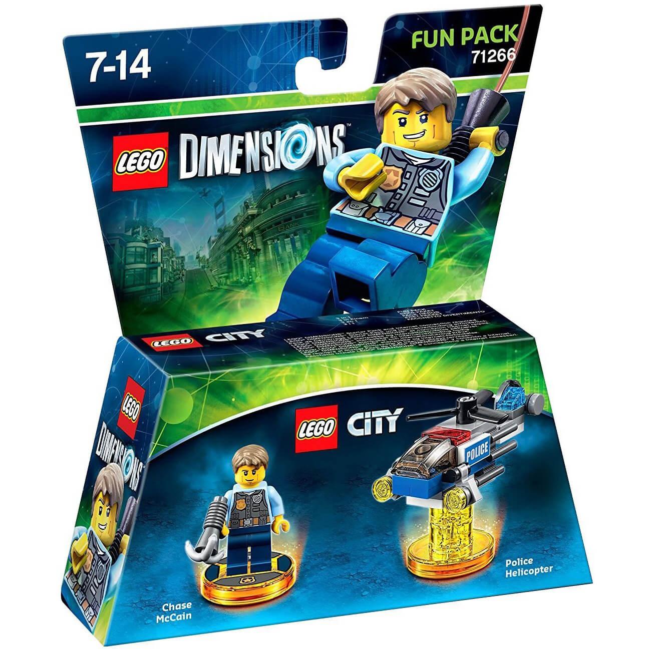Warner Bros Lego Dimensions Lego City Fun Pack