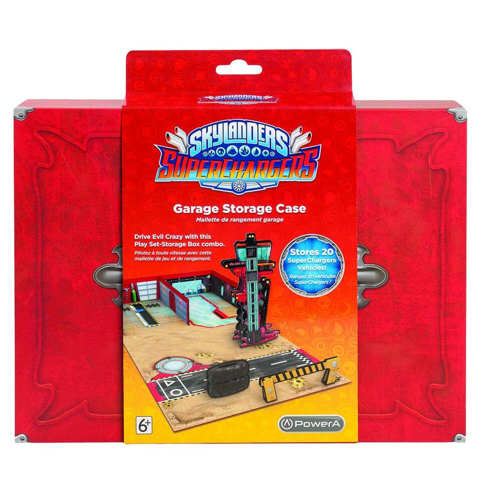 PowerA Skylanders Superchargers Pop-Up Garage Play & Display Case