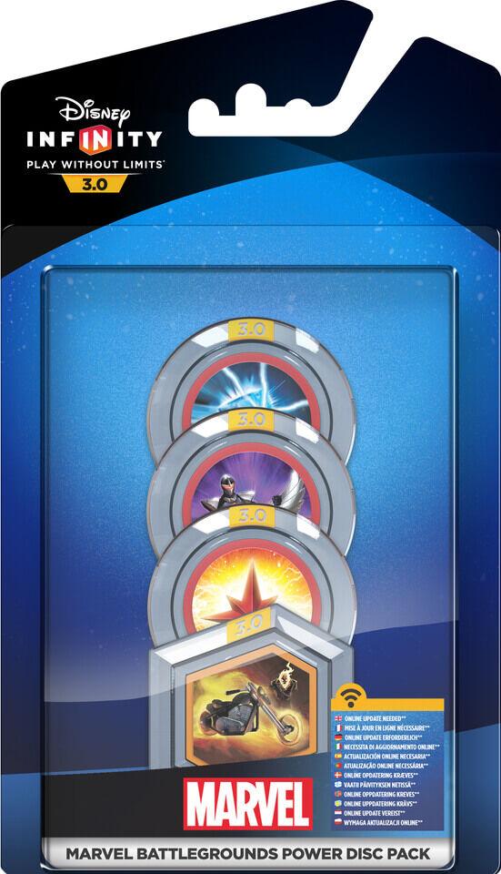 Disney Infinity 3.0: Power Discs Pack - Marvel