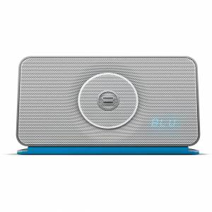Bayan Audio Soundbook X3 Portable Wireless Bluetooth and NFC Speaker & Radio - Silver