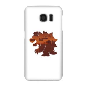 Nintendo Super Mario Bowser Silhouette Phone Case - Samsung S6 - Snap Case - Gloss