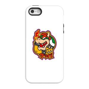 Nintendo Super Mario Bowser Kanji Phone Case - iPhone 5/5s - Tough Case - Matte