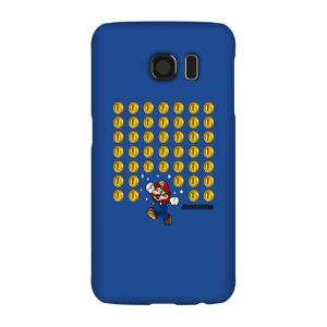 Nintendo Super Mario Coin Drop Phone Case - Samsung S6 - Snap Case - Gloss