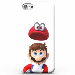 Nintendo Super Mario Odyssey Mario And Cappy Phone Case for iPhone and Android - Samsung S8 - Tough Case - Matte
