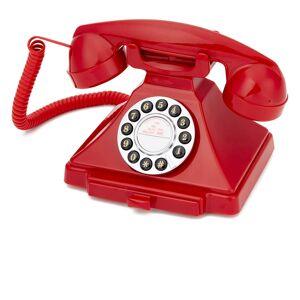 GPO Retro 1929S Classic Carrington Push Button Telephone - Red